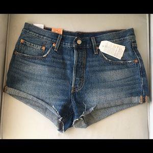 Levi's 501 Classic Denim Shorts